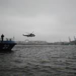 Rettungsübung mit SAR-Hubschrauber der Bundeswehr