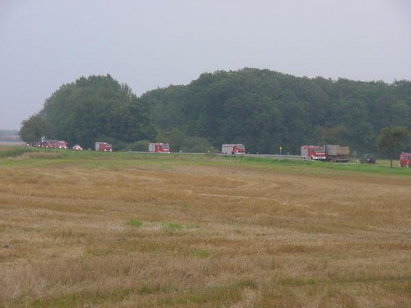 Ziemlich viele rote Autos waren da unterwegs