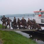 Auch die Bundeswehr war mit vielen Kräften vor Ort