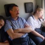 Ein Löschfahrzeug ist eigentlich kein sehr bequemer Schlafplatz