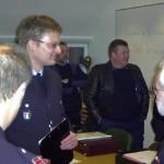 Letzte Besprechung der Ausbilder vor der Prüfung