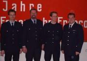 v.l.n.r. Kai Holst, Rudolf Quast, Lars Benitt, Andreas Fick