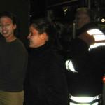 Am Ende der Übung können sich die Opfer auch wieder entspannen... ©Freiwillige Feuerwehr Lokstedt