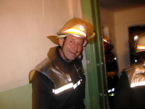 DBERF Walter Abendroth leitete die Einheiten der 5 Freiwilligen Feuerwehren vor Ort ©wendt