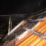 Aussenansicht des zerstörten Daches ©tropp