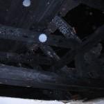 Diese Dachbalken dürften einiges an Stabilität verloren haben... ©tropp