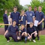 Die Sieger-Mannschaft JF Sülldorf-Iserbrook I