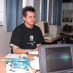 Der Mann für die Umgebung auf dem Entwickler-Server, York-Niklas Prehm