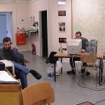 Der Koordinator Björn Wendt, er kommuniziert den Internetauftritt nach außen