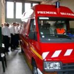 Eine Ambulance