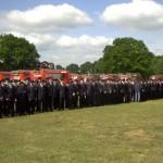 Mehr als 250 Nachwuchskräfte waren erschienen