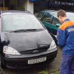 Auftrag für JF Osdorf 1: Finden Sie den teuersten Gebrauchwagen und erfassen Sie die Sonderausstattung.