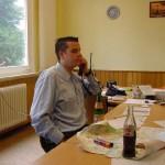 In der Einsatzzentrale im Feuerwehrhaus der FF Eißendorf. Für Stärkung der recht belasteten Funkleitung und auch der eingesetzten Kräfte war gut gesorgt