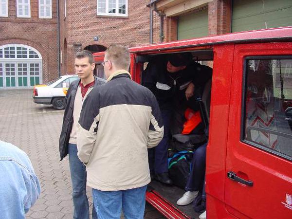 Gespanntes Warten auf die Abreise<br>© Öffentlichkeitsarbeit JF Hamburg