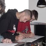 Die letzten Unterschriften... nun kann es losgehen<br>© Öffentlichkeitsarbeit JF Hamburg