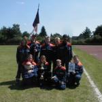 Die Siegergruppe der JF Wellingsbüttel<br>© FF Wellingsbüttel