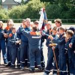 Mit großem Jubel wurde der Sieger bekanntgegeben<br>© FF Wellingsbüttel