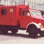 MKW Mannschaftskraftwagen Borgward<br>© FF Langenhorn