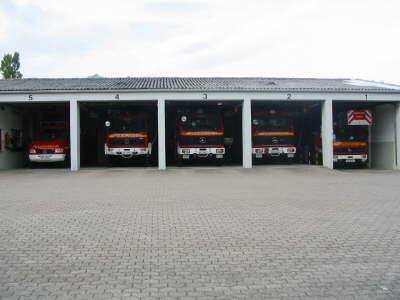 Ein Teil der Feuerwache Eckernförde<br>© FF Stellingen