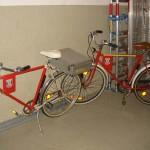 Etwas nicht alltägliches - Dienstfahrräder der FF<br>© FF Stellingen