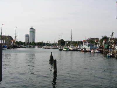 Ein Teil des Eckernförder Hafens<br>© FF Stellingen