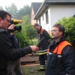 Interview mit dem Bereichsführer Eimsbüttel (Jörg Schultze-Scheer)<br>© FF Stellingen