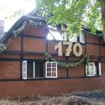 erst am 12.September feierte das Gebäude 170ten Geburtstag