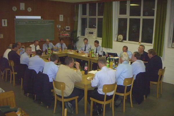 Sitzung des Arbeitskreises Fernemeldedienst am 23.09.2003 im Feuerwehrhaus der FF Eimsbüttel