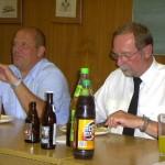 rechts im Bild Günter Kirchner