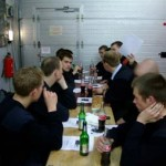 Abschlussgespräch bei der FF Billstedt-Horn