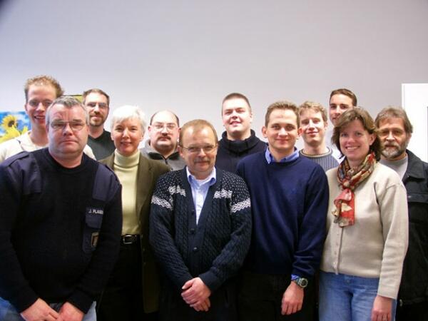 alle Seminarteilnehmer mit den Dozentinnen Erneli Martens und Dr. Verena Müller