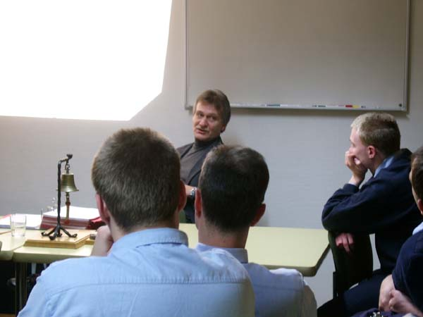 Gespannt folgten die Billstedt-Horner Kameraden dem Vortrag.