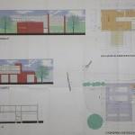 Der Bauplan für die FF Altona; aufgrund der Grundstücksgrösse als eingeschossiges Gebäude geplant.
