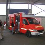 Ein hamburger Rettungswagen.<br> © Merlin Wolf