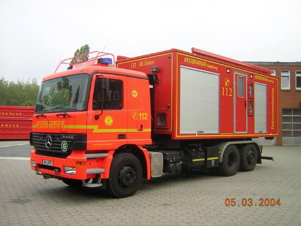 AB-Dekon auf WLF Actros 2531 L (6x2)