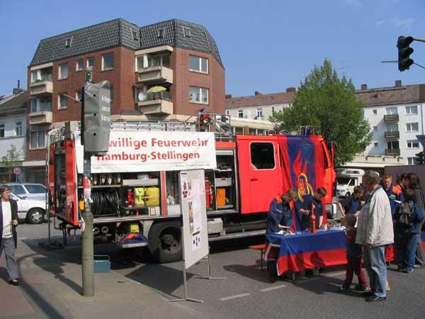Die FF Stellingen stellte ihre Jugendarbeit der Öffentlichkeit vor. <br>© JF Stellingen<br>