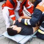Ein wichtiger Bestandteil vieler Übungen war die Erstversorgung verletzter Personen. <br>© FF Stellingen<br>