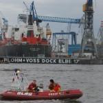 Kleinboot der Deutschen Lebensrettungsgesellschaft (DLRG)<br> © Merlin Wolf