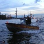 Kleinboot FF Rissen.<br> © Merlin Wolf