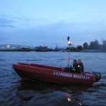 Kleinboot vom Technischen Hilfswerk (THW)<br> © Merlin Wolf