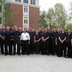 Gruppenfoto der Einsatzkräfte des Bereiches Bergedorf.<br>Bild: Jahnke - FF Boberg