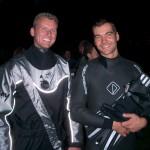 Links: M.Heeb BF Billstedt / Rechts: B. Wendt FF Lokstedt