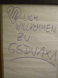 GSDV1X1 steht für Günter Schwormstedt's DeichVerteidigungs - 1x1