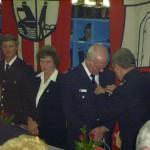 OBD Farrenkopf verleiht das Feuerwehr-Ehrenzeichen Verdienstmedaille 1. Stufe