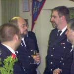 Gespräche zwischen Wehrführern aus dem Bereich Altona.
