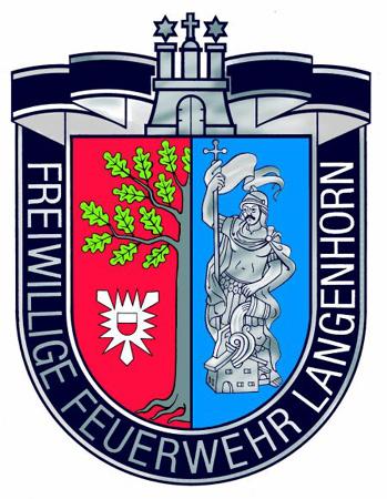 Das Wappen der FF Langenhorn