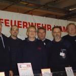 Die Modellbaugruppe der Hamburger Feuerwehrhistoriker auf der Modellbauwelt Hamburg 2004.