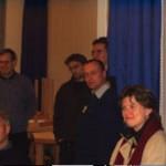 Hamburgs Feuerwehrpastorin Erneli Martens (vorn rechts) bei dem 2-tägigen Seminar an der LFS.