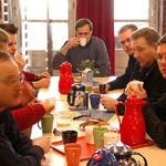 Teilnehmer in einer Arbeitsgruppe