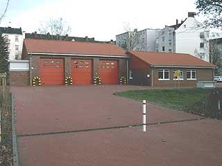 Foto vom neuen Feuerwehrhaus der FF Eimsbüttel